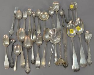 Tray lot of sterling silver miscellaneous