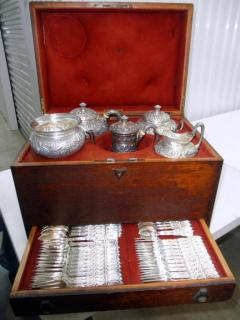 Tiffany Cased Sterling Silver Tea/Flatware