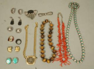 13pc Mixed Costume Jewelry Lot including