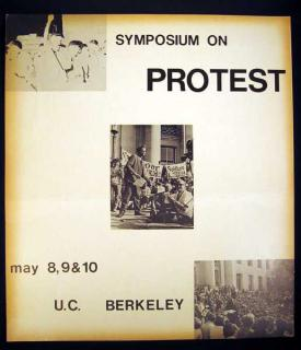 Free Speech Movement VINTAGE PROTEST POSTER