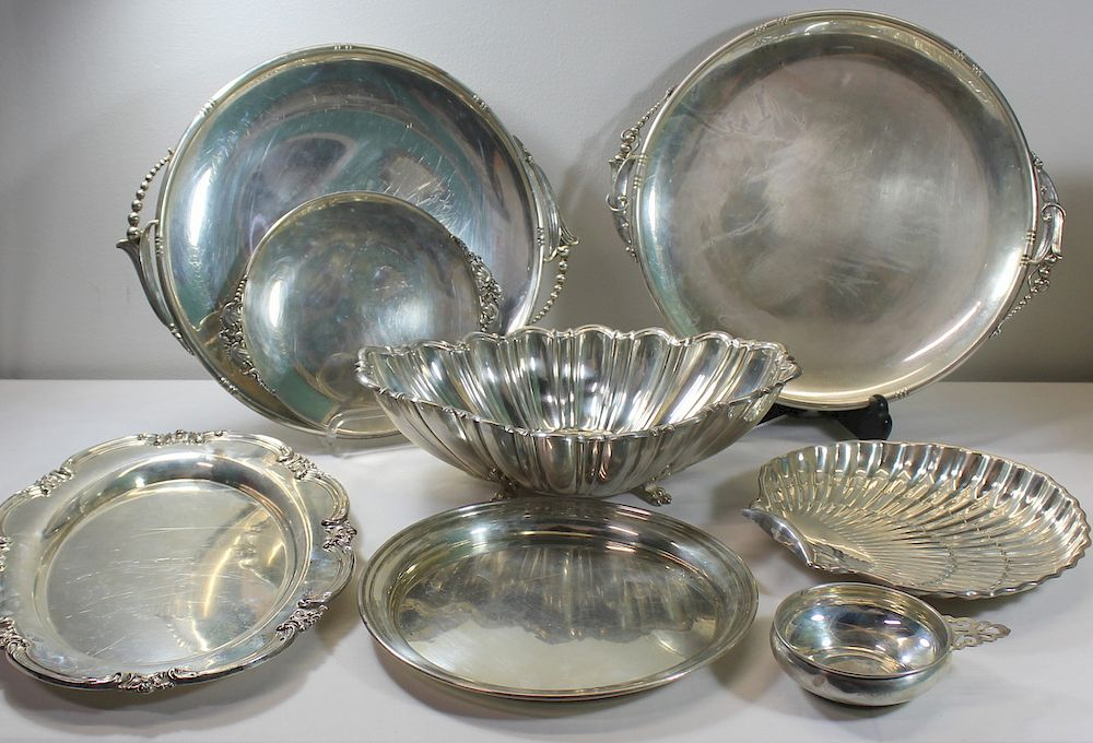 STERLING. Miscellaneous Sterling Hollow Ware.