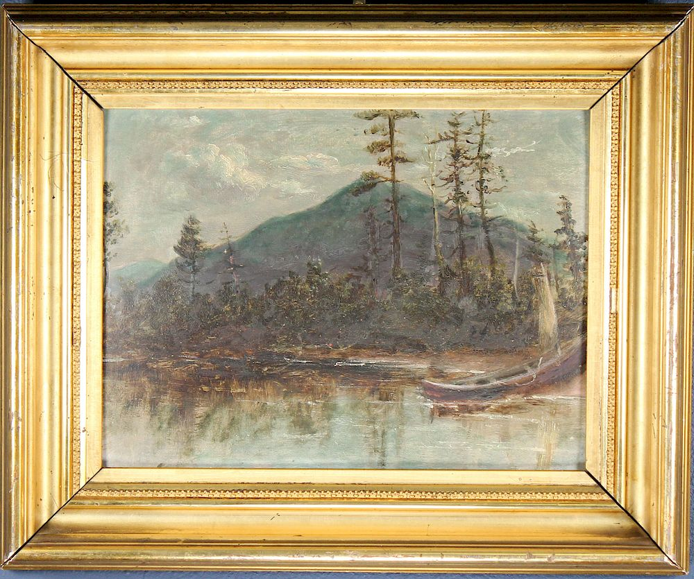 19th C. Hudson River School Landscape:  19th