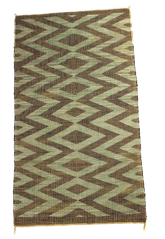 Navajo Large Finely Woven Eye Dazzler Rug: