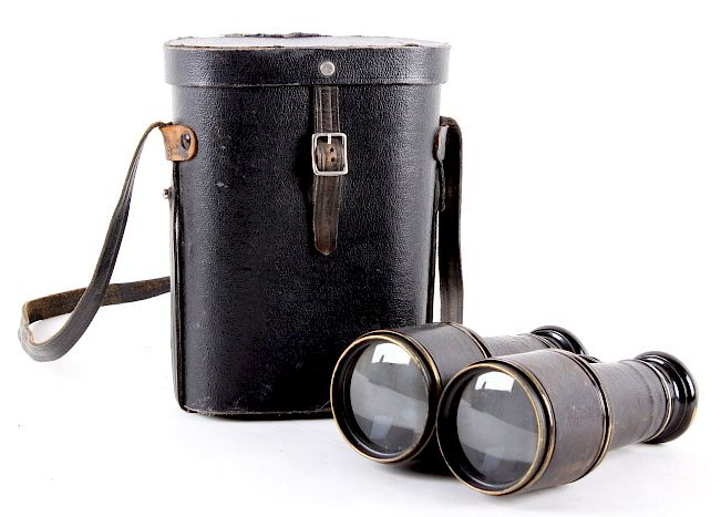 Antique French Field Binoculars:  For your