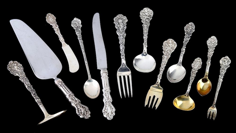 A 137 PC GORHAM VERSAILLES STERLING SILVER