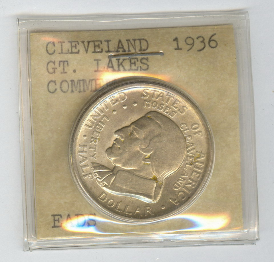 1935 CLEVELAND GREAT LAKES EXPO. CENT HALF