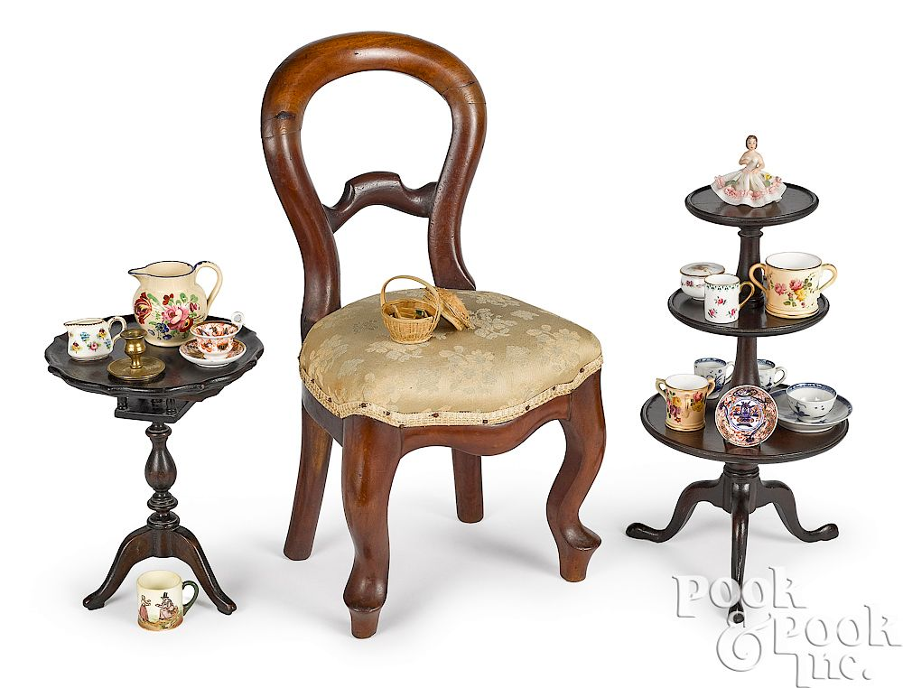 Doll size furniture and accessories:  Doll