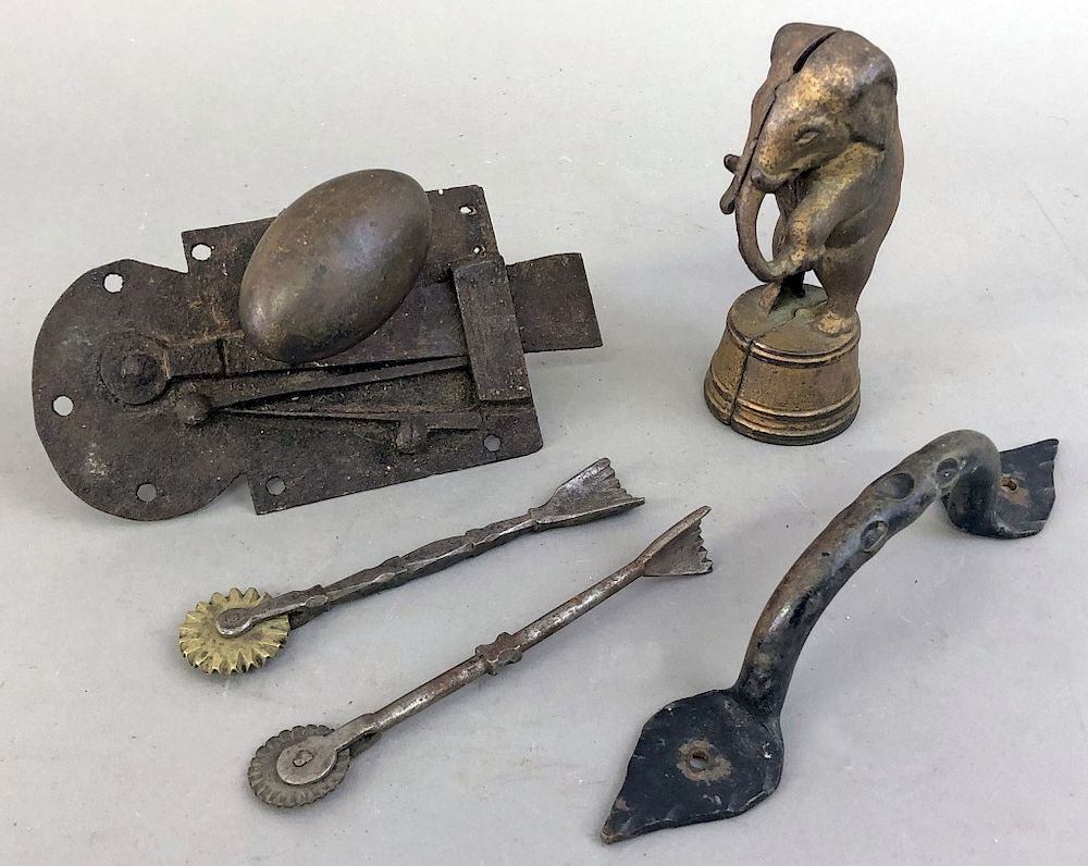 Early Metalware:  Early metalware to include