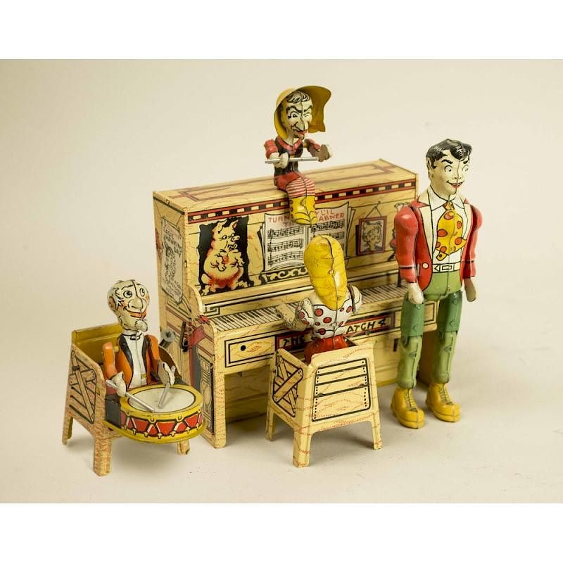 Li'L Abner and his Dogpatch Band w/Box: