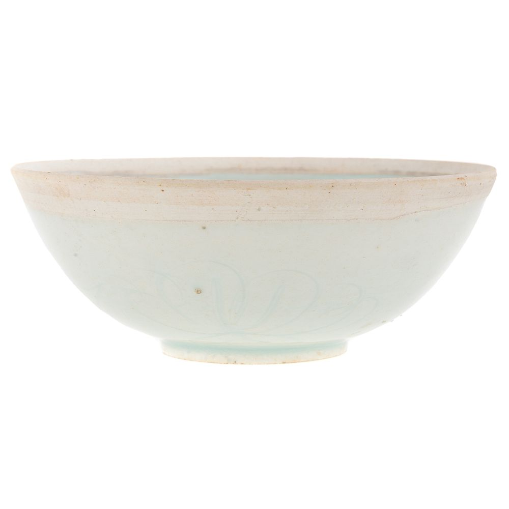 Chinese Qingbai Porcelain Bowl:  Song Dynasty,