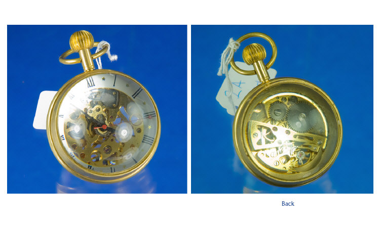 Ball Watch with Visible Escapement. An unusual