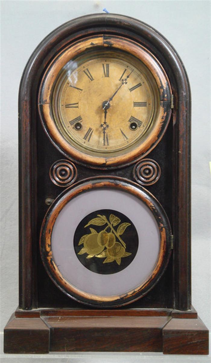 Ingraham Venetian No 2 rosewood mantle clock,