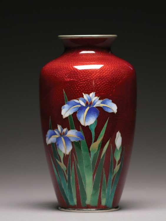 Price Guide For Japanese Cloisonn Vase Japanese Cloisonn