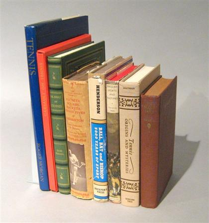 8 vols.  Court Tennis & other Sporting Subjects: