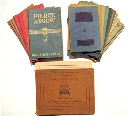 24 vols. (22 wrappers)  Pierce-Arrow Motor