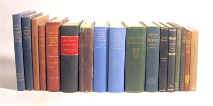 17 vols.  Pennsylvania and Related Genealogy: