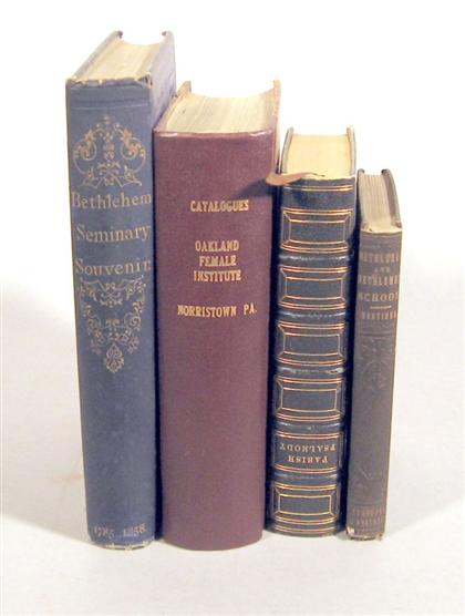 4 vols.  19th-Century Female Education: Oakland