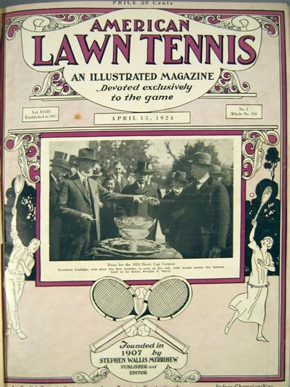 2 vols.  Lawn Tennis - Periodical Literature: