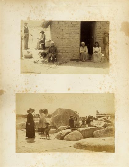 1 vol.  Photo Album - American West. Arizona,