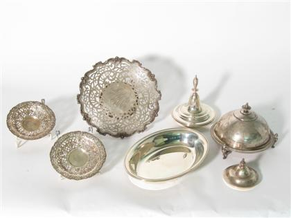 Miscellaneous sterling silver holloware