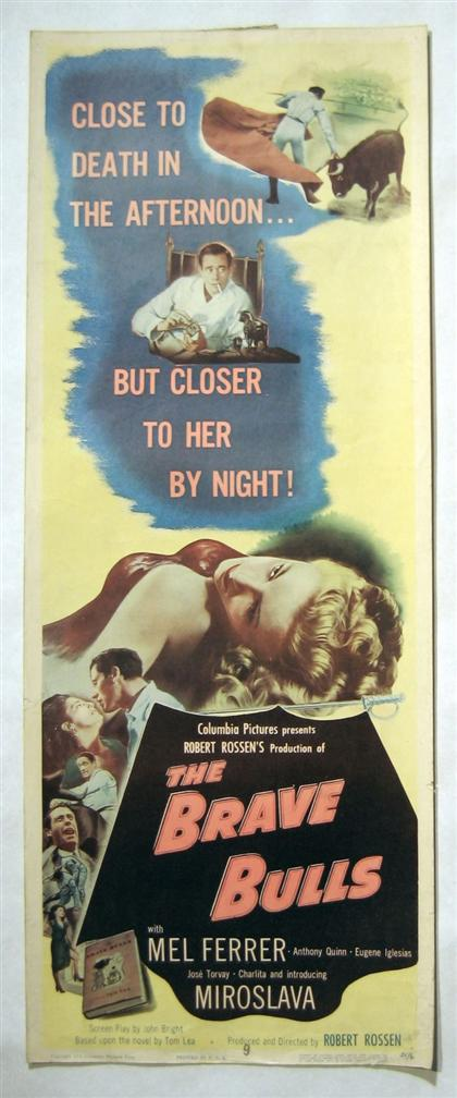Price guide for 39 pieces  Movie Posters  (Drama, 1950-1961):
