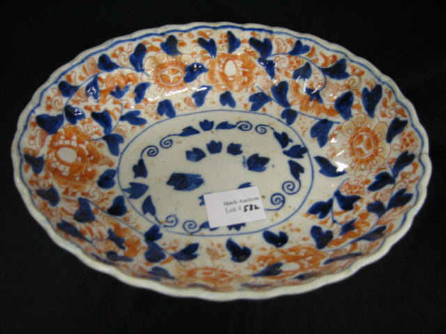 Price guide for Japanese Imari Porcelain Oval Bowl, circa