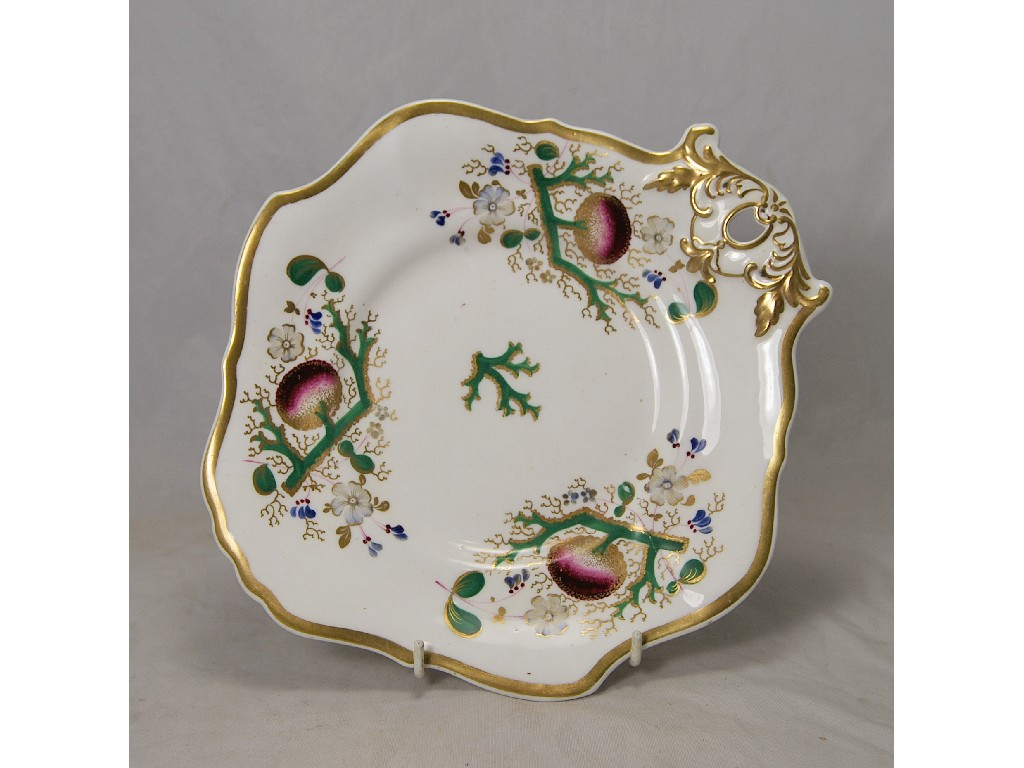 Four early Victorian Staffordshire china