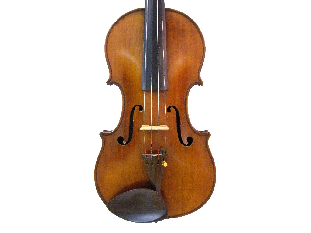 English violin by Frederick William Chanot