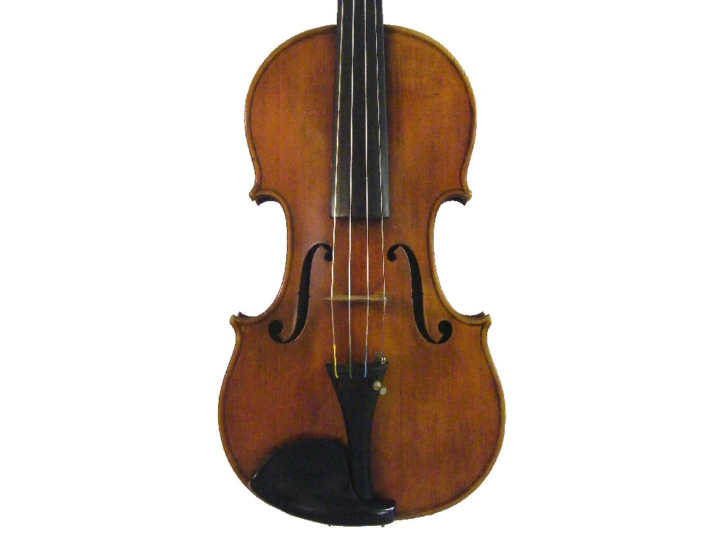 Good English violin by George Adolphe Chanot