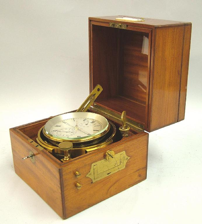 Good two day marine chronometer made by Victor