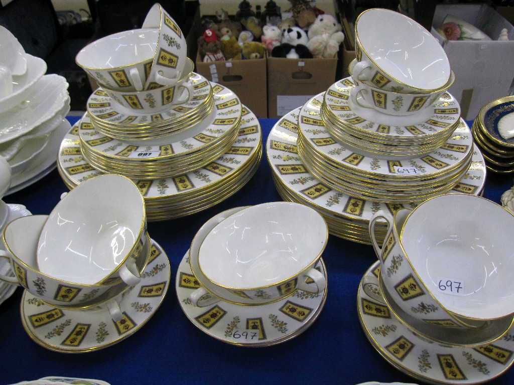 Royal Crown Derby 'Derby China' soup cups