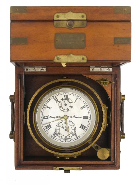 A TWO-DAY MARINE CHRONOMETER attributed to
