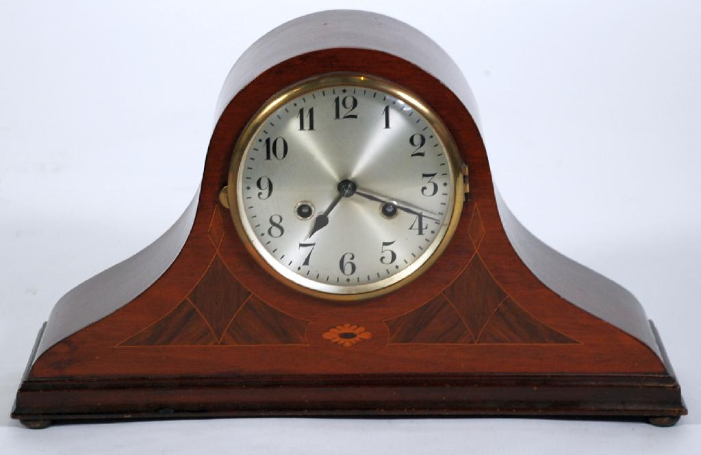 EARLY TWENTIETH CENTURY INLAID MAHOGANY CASED