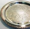 oneida silverplated tray marks
