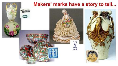 The story of porcelain makers' marks