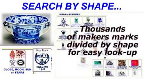 search makers marks on chinaware